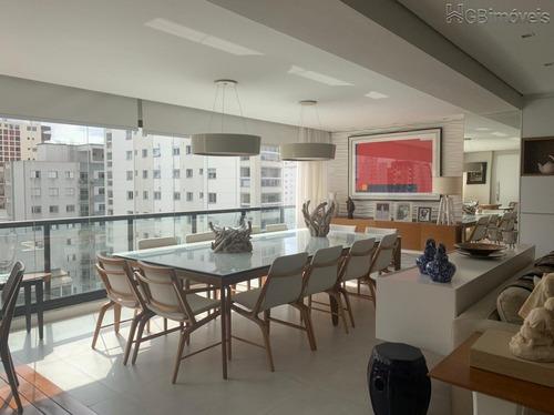 Imagem 1 de 15 de Apartamento - Moema - Ref: 11482 - V-ca-aragu1010