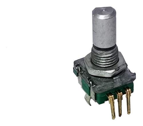 Imagen 1 de 4 de Potenciometro Sin Fin 3 Patas C/ Switch Autoestereo