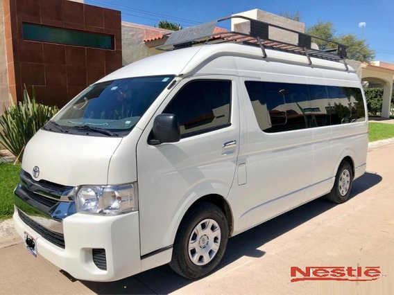Toyota Hiace Pasageros Año 2015