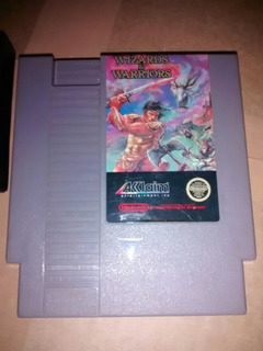 Wizards & Warriors, Juego Para Nintendo Nes 8 Bits