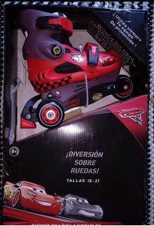 Patines Cars 3 Ruedas 18-21
