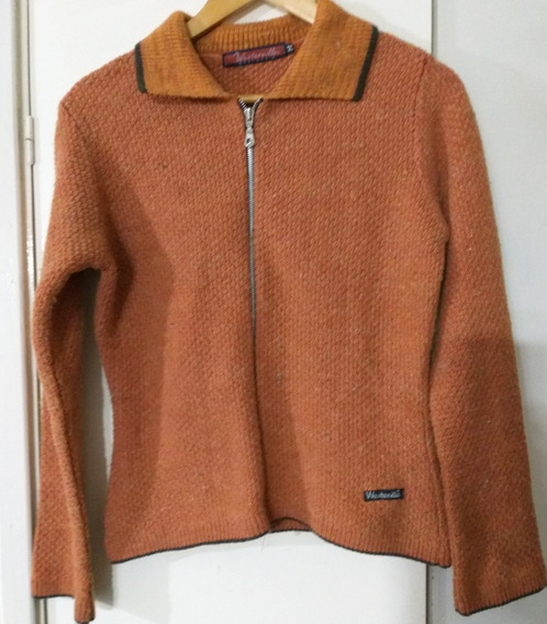 Saco Sweater De Lana Bucleada Mujer Marca Westerville M