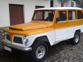 Rural Willys 1969 4x2 Motor Opala 6 Cil 5 Marchas Dir Hidr.