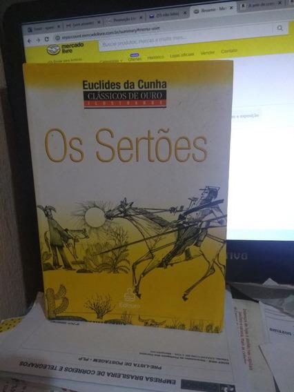 Os Sertões Clássicos De Ouro Ilustrado / Euclides Da Cunha