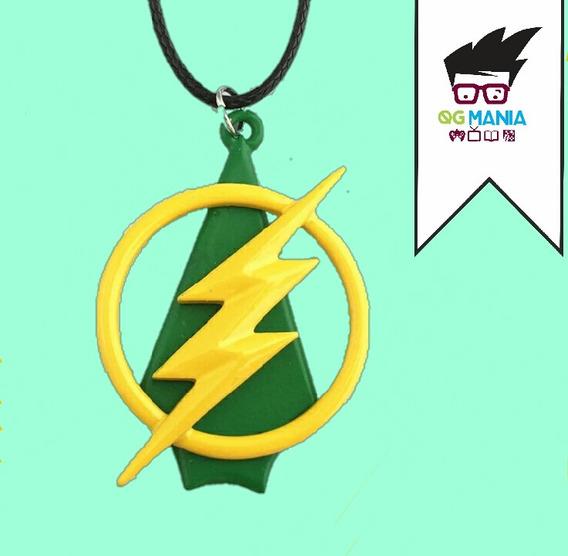 Colar Flash Arrow Crossover