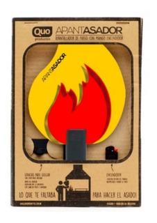 Apantasador Con Encendedor Para Prender Fuego Asador Regalo