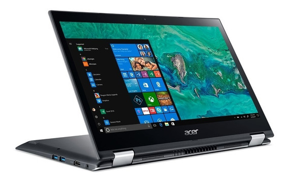 Notebook Conversível Acer Spin 3 Sp314-51-31rv Intel Core I3 4gb Hd 1tb Tela 14 Hd Touch Scren Windows 10