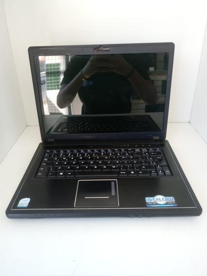 Notebook Intelbras M730sr, Core 2 Duo T6500, 120gb ,4gb Ddr2