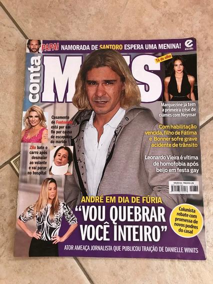 Revista Conta Mais 834 André Gonçalves Rodrigo Santoro