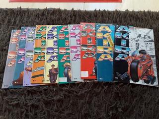 Hq Akira Editora Abril Lote Com 10 Revistas