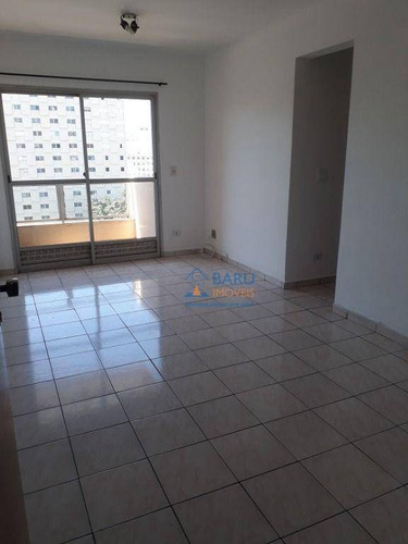 Imagem 1 de 24 de Apartamento Com 1 Dormitório Para Alugar, 50 M² Por R$ 1.990/mês - Pinheiros - São Paulo/sp - Ap64573