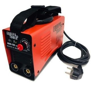 Maquina De Solda Inversora Mini Mma 160a Equipa Tools 220v