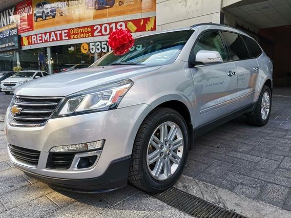 Chevrolet Traverse 3.6 Lt Piel Mt 2014 Somos Agencia