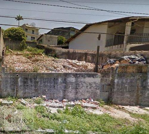 Imagem 1 de 15 de Terreno À Venda, 296 M² Por R$ 300.000,00 - Vila Aurora - Ribeirão Pires/sp - Te0426