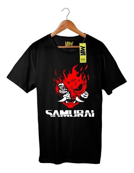 Remera Samurai - Cyberpunk 2077 - 100% Algodón Calidad