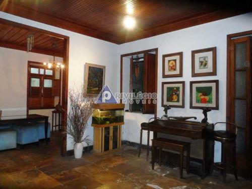 Casa De Vila À Venda, 5 Quartos, 1 Vaga, Botafogo - Rio De Janeiro/rj - 11640
