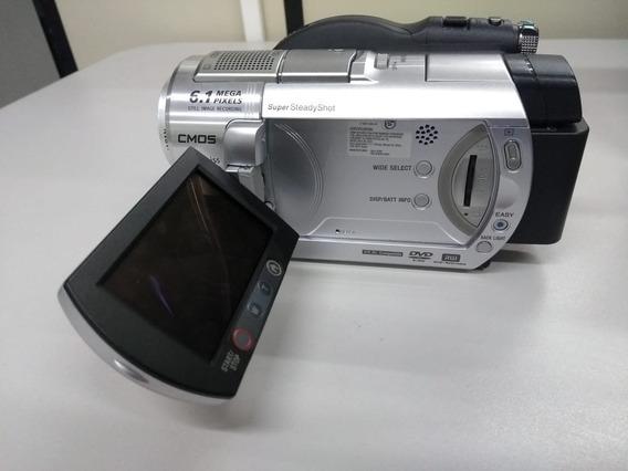 Sony Handycam Dcr-dvd508 6.1 Mpx Usada E Ótimo Estado!