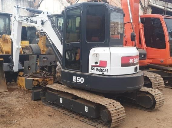 Mini Escavadeira Bobcat E50 2013 Toda Revisada E Pintada