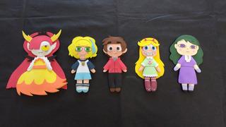 Souvenirs Star Vs Las Fuerzas Del Mal -muñequitos Originales