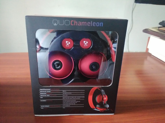 Audifino Quo 3.5 Chameleon Accesorios 2 Colores Cambiables