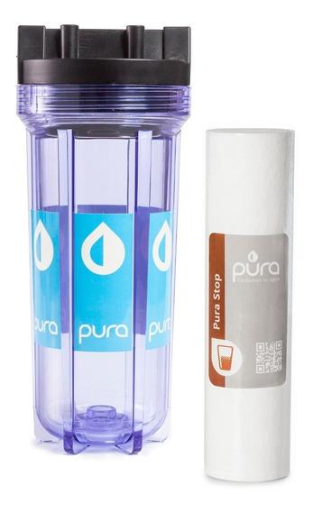Filtro Agua Para Sedimentos Arenillas Partículas Pura Stop