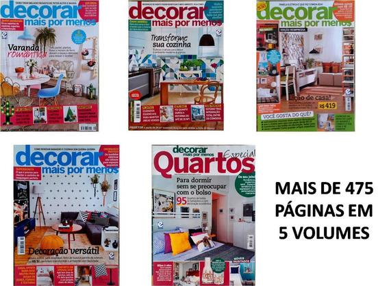 Kit Revistas Decoração E Ideias Casas Decorar Mais Por Menos