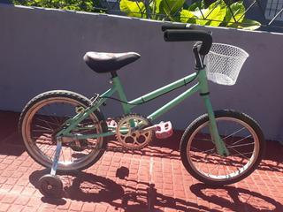 Bicicleta R16 De Nena Restaurada