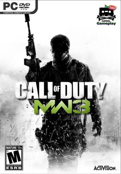 Kit 3 Jogos - Call Of Duty Duty Modern Warfare 1,2,e3 Pc/dvd