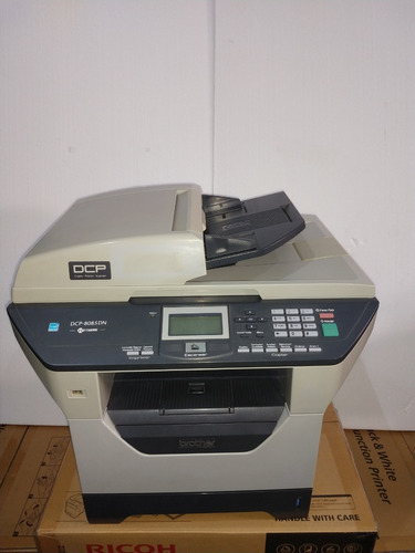 Multifuncional Brother Dcp 8085 Revisada + Cilindro + Toner