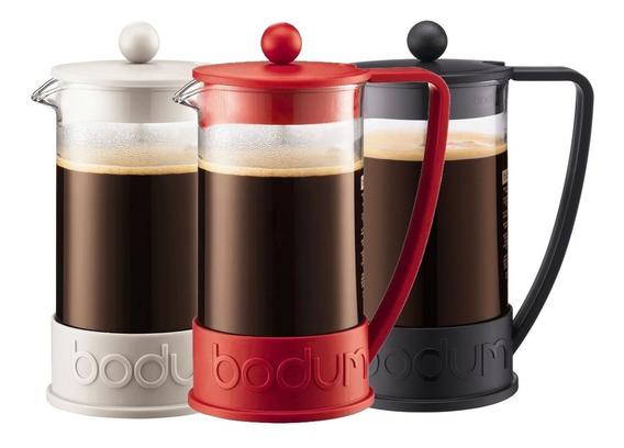Cafetera Bodum New Brazil 3 Pocillos Café Tienda Pepino Prensa Francesa Embolo