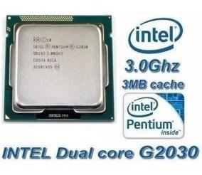 Processador Intel Dual Core G2030 3.0ghz 1155 Com Cooler