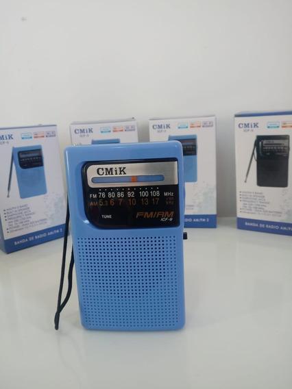Rádio Portátil Am Fm Cmik Original