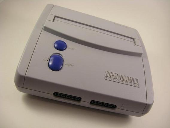 Super Nintendo-super Nes Control Deck-adaptador Ac Original