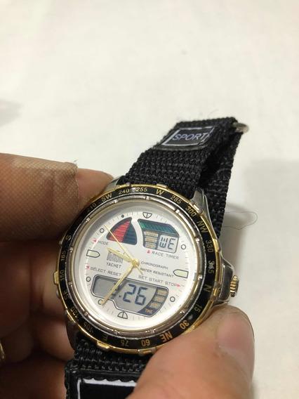 Relógio Dumont Yachet Estilo Windsurf