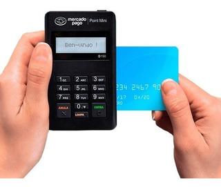 Máquina Point Mini Do Mercado Pago + Cartão E Sem Aluguel