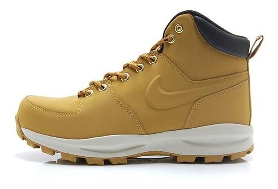 Bota Nike Manoa Leather Camel 454350-700 Nk0811