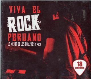 Viva El Rock Peruano Lo Mejor De Los 80 S 90 Cd Ricewithduck