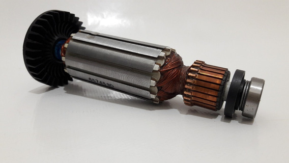 Rotor Estator Rolamento Escova Lixadeira Mga452 Makita 220v
