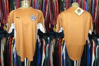 Paraguai 2002 Camisa Reserva Tamanho Eg.
