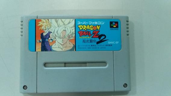 Jogo Super Nintendo Dragon Ball Z2 Original - Frete Grátis