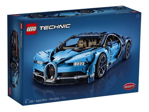Lego Technic Bugatti Chiron 42083 - 3599 Peças