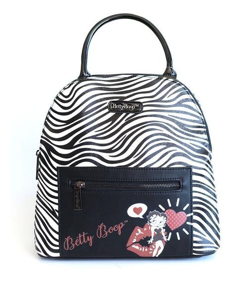 Cartera Mochila Betty Boop Cod 80926 By Ibbags