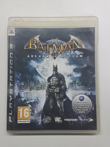Batman Asylum Mídia Física Original Para Playstation 3