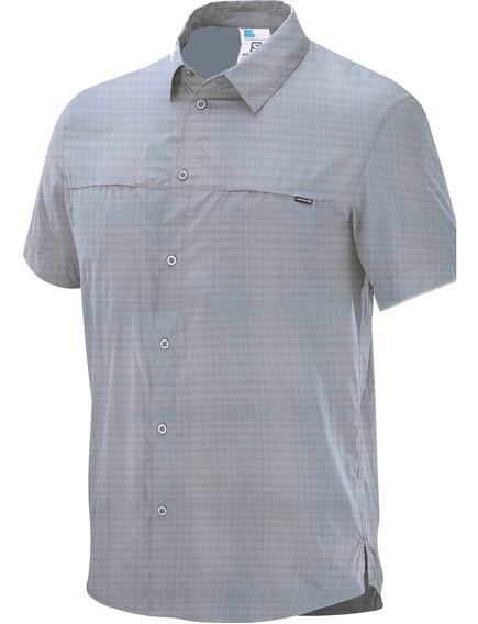Camisas Hombre - Salomon - Capri Ss Shirt M - Hiking