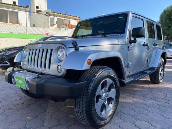 Jeep Wrangler 3.6 Sahara 4x4 Automático 2018