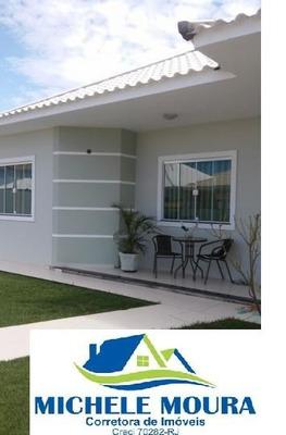 Casa Em Condomínio Para Venda Em Araruama, Barbudo (parati), 2 Dormitórios, 2 Banheiros, 2 Vagas - 64