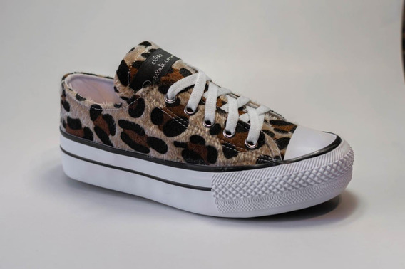 Zapatillas Animal Print Con/sin Plataforma (x Mayor Y Menor)