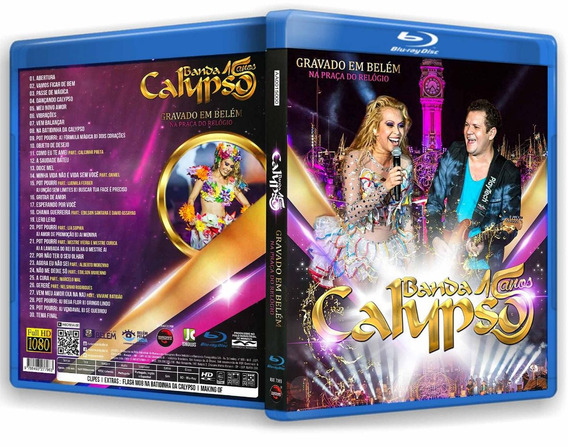 Blu-ray Banda Calypso 15 Anos Em Belém Do Pará *joelma