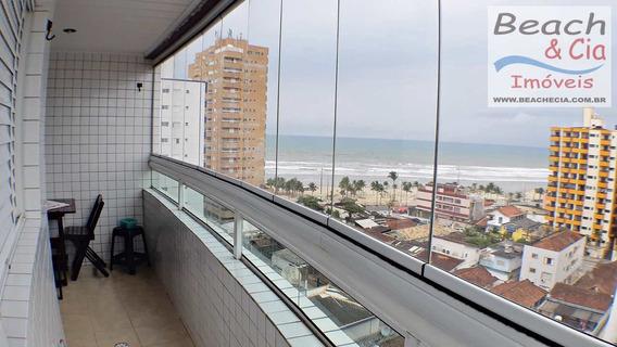 Vista-mar, 1 Dorm, Ocian, Praia Grande, R$ 180 Mil, Ap00688 - Vap00688