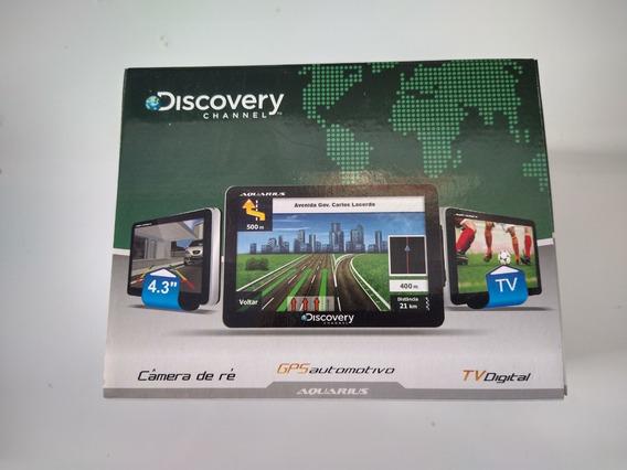 Gps Discovery 4.3 , Tv Digital, Câmera De Ré